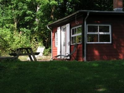Sitzecke im Garten: Ferienhaus in Malente Timmdorf