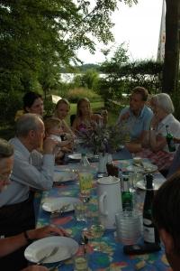 Platz für die Großfamilie im Garten im Ferienhaus in Ostholstein