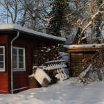Winter in Ostholstein - Ferienhaus am Dieksee