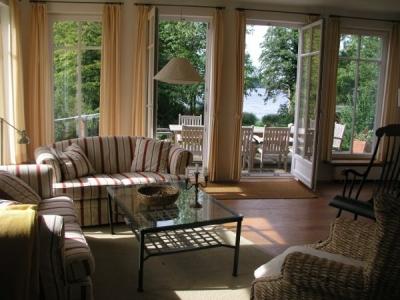 Wohnzimmer im Schwedenhaus am Dieksee in Ostholstein