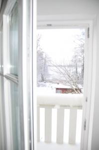 Ferienhaus am Dieksee- Ausblick im Winter